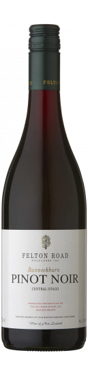 Felton Road Bannockburn Vineyard Pinot Noir 2019