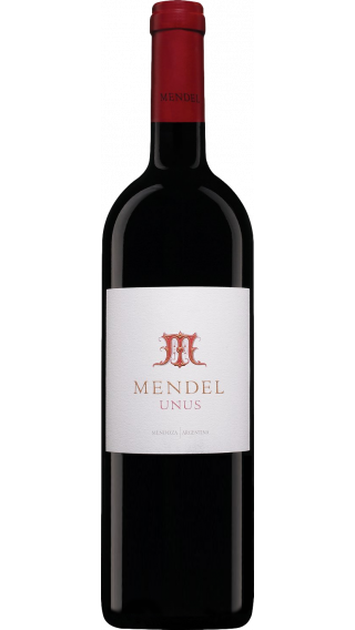 Bottle of Mendel Unus 2017 wine 750 ml