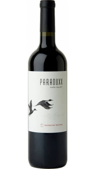 Bottle of Duckhorn Paraduxx 2014 wine 750 ml