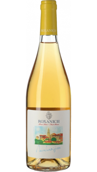 Bottle of Roxanich Malvazijica 2016 wine 750 ml