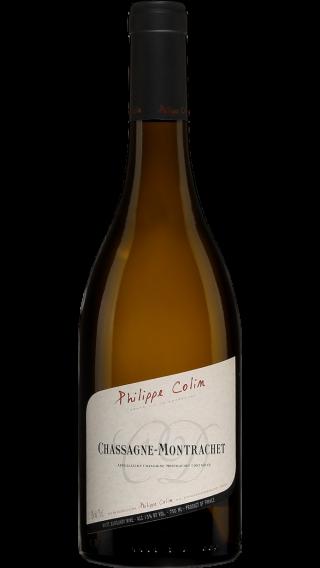 Bottle of Philippe Colin  Chassagne Montrachet 2017 wine 750 ml