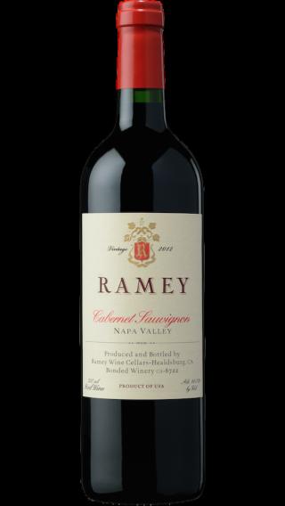 Bottle of Ramey Cabernet Sauvignon Napa  Valley 2011 wine 750 ml