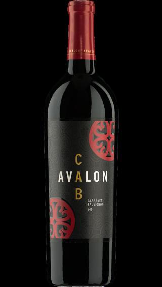 Bottle of Avalon Lodi Cabernet Sauvignon 2016 wine 750 ml