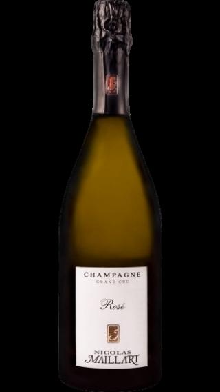 Bottle of Champagne Nicolas Maillart Rose Grand Cru wine 750 ml