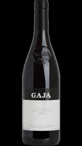 Bottle of Gaja Barbaresco 2014 wine 750 ml