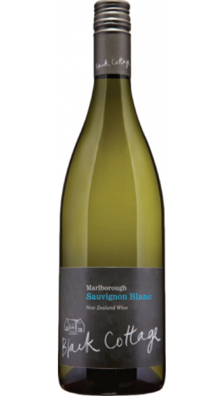 Bottle of Black Cottage Sauvignon Blanc 2017 wine 750 ml
