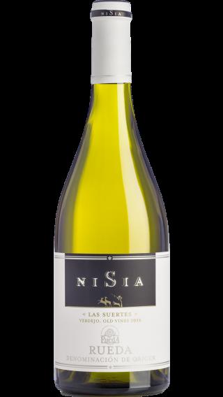 Bottle of Nisia Las Suertes 2017 wine 750 ml