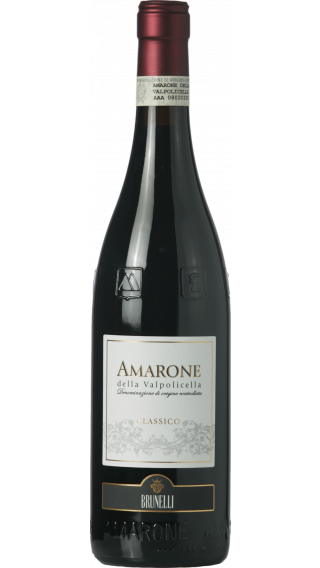 Bottle of Brunelli Amarone Della Valpolicella Classico 2015 wine 750 ml
