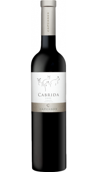 Bottle of Capcanes Cabrida 2015 wine 750 ml