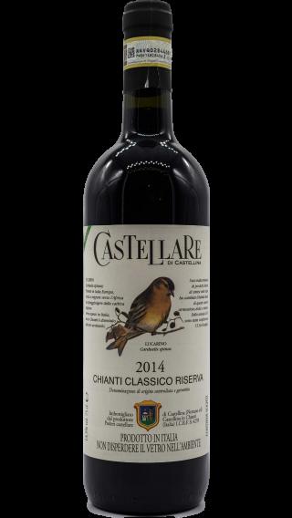 Bottle of Castellare di Castellina Chianti Classico Riserva 2014 wine 750 ml
