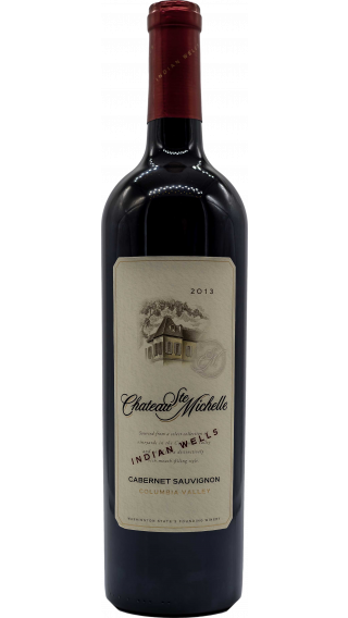 Bottle of Chateau Ste Michelle Indian Wells Cabernet Sauvignon 2013 wine 750 ml
