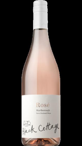 Bottle of Black Cottage Rose 2017 wine 750 ml