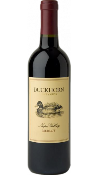 Bottle of Duckhorn Napa Valley Merlot 2013 wine 750 ml