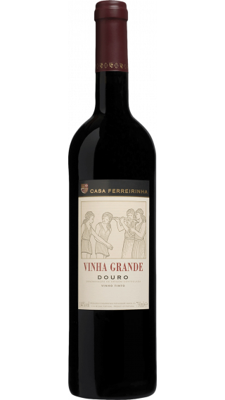 Bottle of Casa Ferreirinha Vinha Grande Tinto 2016 wine 750 ml