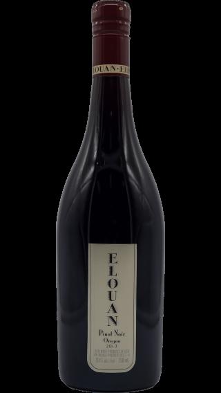Bottle of Elouan Pinot Noir 2014 wine 750 ml