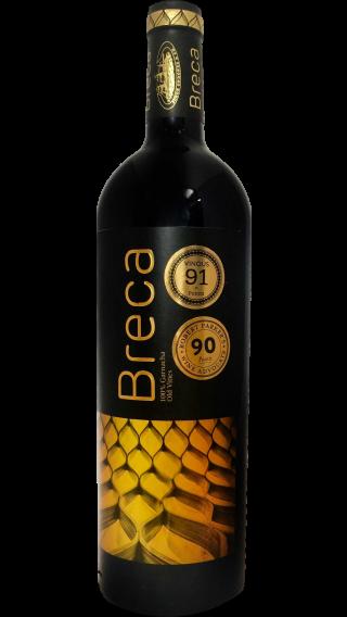 Bottle of Breca 2014 wine 750 ml