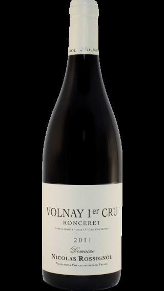 Bottle of Nicolas Rossignol Volnay 1er Cru Ronceret 2011 wine 750 ml