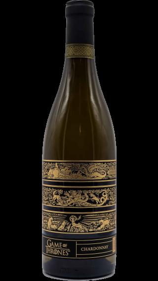 Bottle of Game of Thrones Chardonnay 2016 wine 750 ml