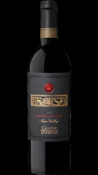 Bottle of Game of Thrones Cabernet Sauvignon 2015 wine 750 ml