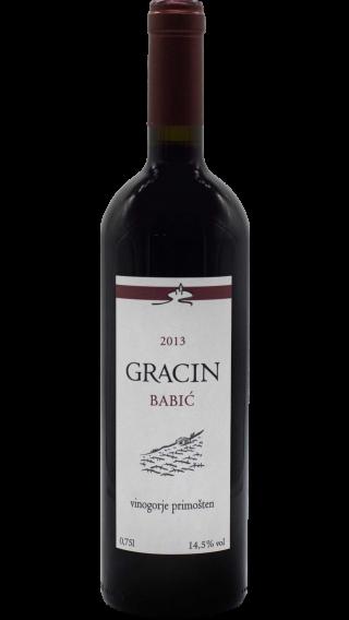 Bottle of Suha Punta Gracin Babic  2015 wine 750 ml