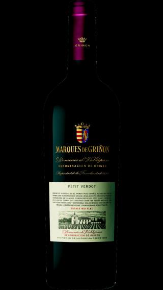 Bottle of Marques de Grinon Petit Verdot 2016 wine 750 ml