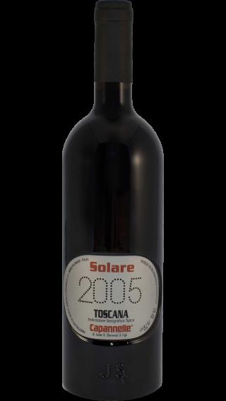 Bottle of Capannelle Solare 2005 wine 750 ml