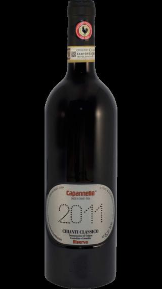 Bottle of Capannelle Chianti Classico Riserva 2011 wine 750 ml