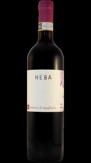 Bottle of Fattoria di Magliano Heba Morellino di Scansano 2013 wine 750 ml