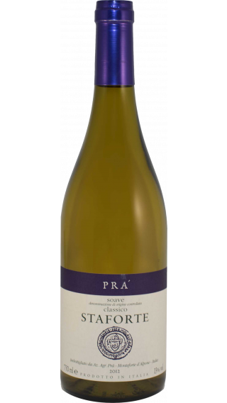 Bottle of Pra Soave Classico Staforte 2012 wine 750 ml