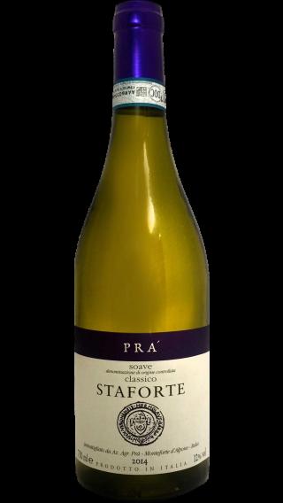 Bottle of Pra Soave Classico Staforte 2014 wine 750 ml