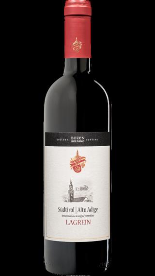 Bottle of Kellerei Bozen Lagrein Grieser 2017 wine 750 ml
