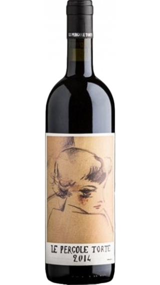 Bottle of Montevertine Le Pergole Torte 2014 wine 750 ml