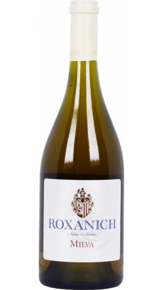 Bottle of Roxanich Milva Chardonnay 2010 wine 750 ml