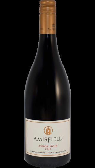 Bottle of Amisfield Pinot Noir 2010 wine 750 ml