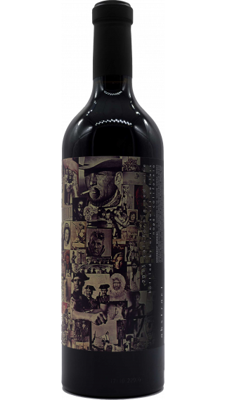 Bottle of Orin Swift Abstract 2016 wine 750 ml