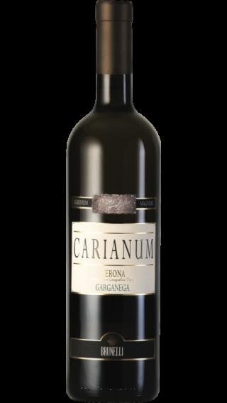 Bottle of Brunelli Carianum Garganega 2017 wine 750 ml