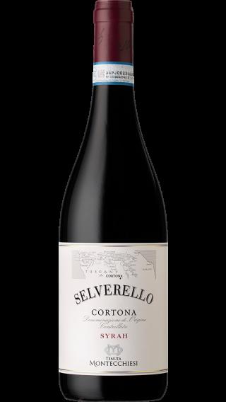 Bottle of Dal Cero Selverello Montecchiesi Cortona Syrah 2016 wine 750 ml