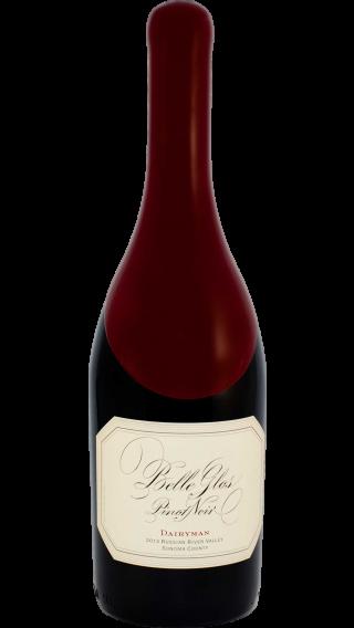 Bottle of Belle Glos Dairyman Pinot Noir 2014 wine 750 ml