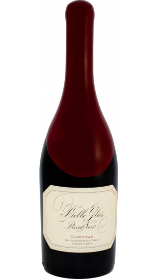 Bottle of Belle Glos Dairyman Pinot Noir 2015 wine 750 ml