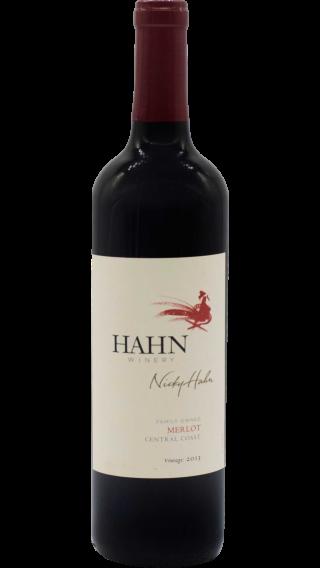 Bottle of Hahn Merlot 2013 wine 750 ml