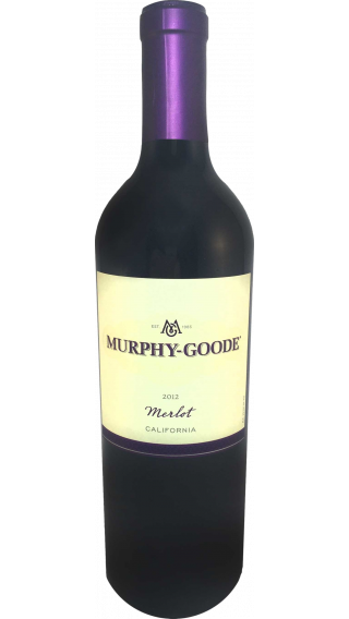 Bottle of Murphy Goode Merlot 2012 wine 750 ml