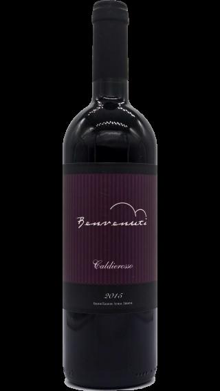 Bottle of Benvenuti Caldierosso 2015 wine 750 ml