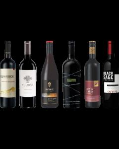 Kanada Britisch-Kolumbien Rotwein Verkostungsset