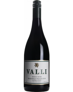 Valli Bannockburn Vineyard Pinot Noir 2018