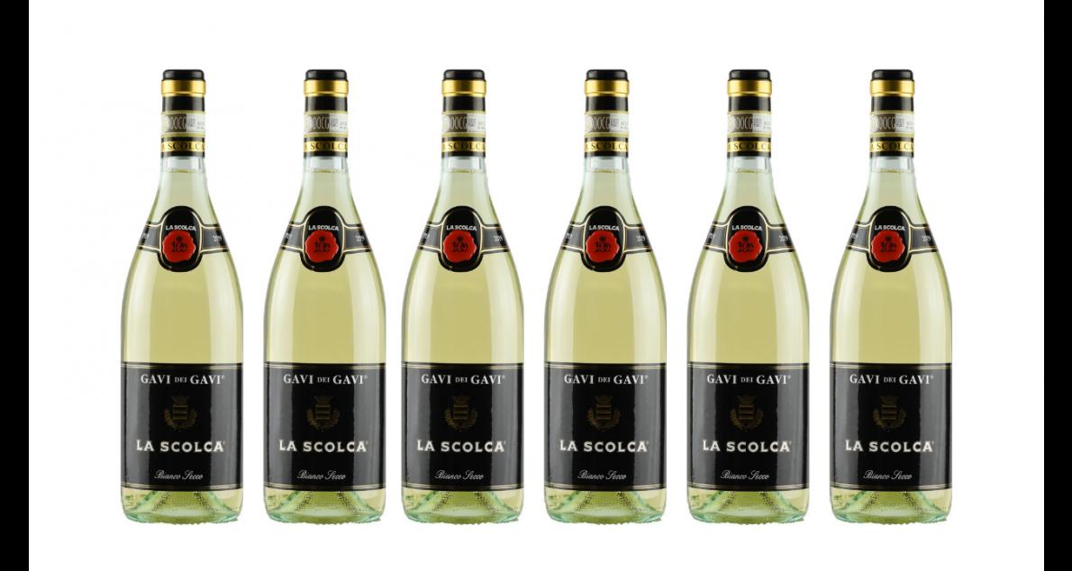 Bottle of La Scolca Gavi dei Gavi 2019 6 Flaschenset wine 0 ml