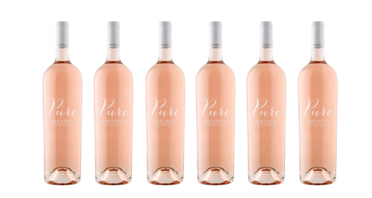 Bottle of Mirabeau Pure Provence Rose 2019 6 Flaschenset wine 0 ml