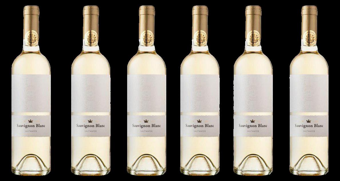 Bottle of Iuris Saltwater Sauvignon Blanc 2019 6 Flaschenset wine 0 ml