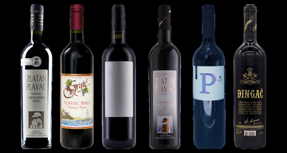 Bottle of Plavac Mali Verskostungsset wine 0 ml
